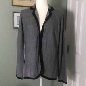 EUC BANANA REPUBLIC Sweater Blazer Large
